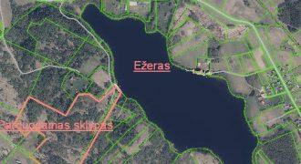 Širvintų r. Kiauklių k. 10 ha su ežero pakrante