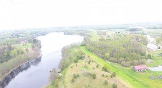 Privatus ežeras su 10 ha besiribojančiu žemės sklypu