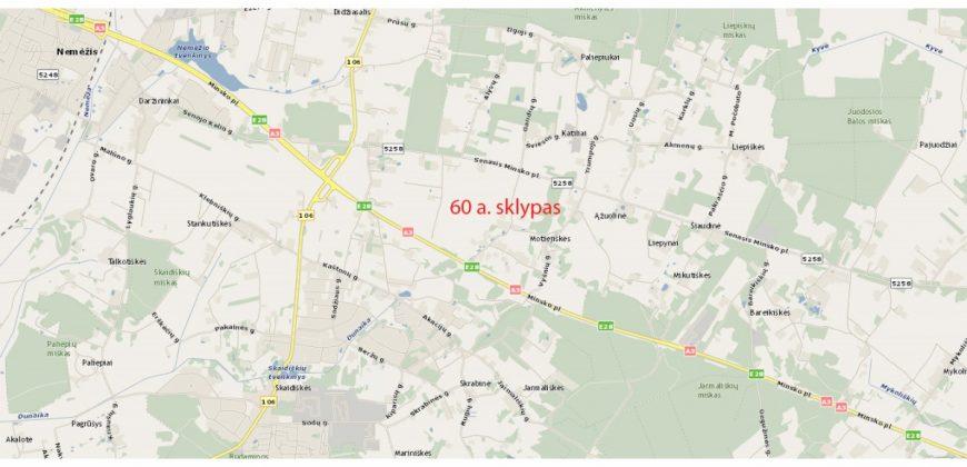 Vilniaus r. sav., Nemėžio sen., Motiejiškių k., Motiejiškių g. 1